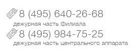 Телефоны для связи